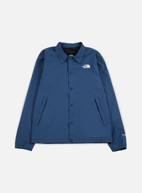 giacche the north face tnf coaches jacket shady blue