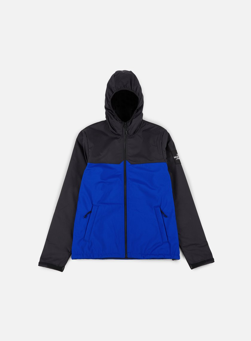 The North Face - West Peak Softshell Jacket, TNF Black/Bright Cobalt Blue