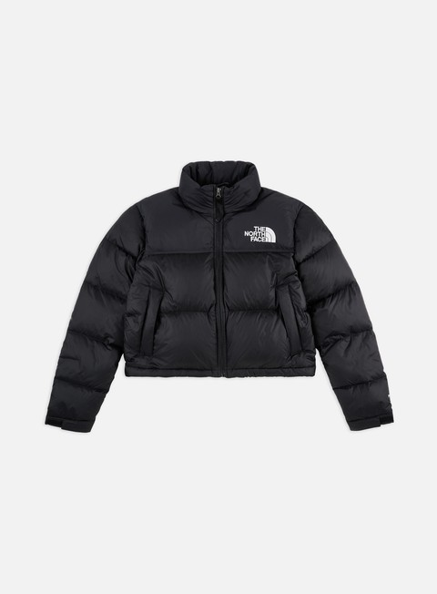 Winter Jackets The North Face WMNS Nuptse Cropped Jacket