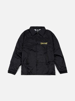 Thrasher - Pentagram Coach Jacket, Black
