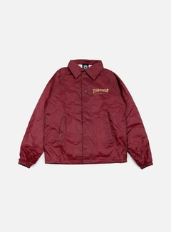 Thrasher - Pentagram Coach Jacket, Maroon 1