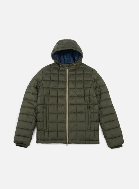 giacche timberland milford 300g hooded jacket forest green