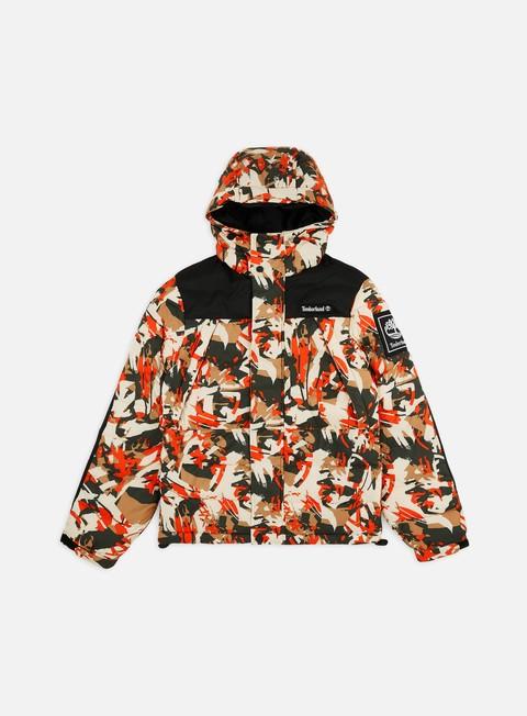 Giacche Invernali Timberland O-A Camo Puffer Jacket