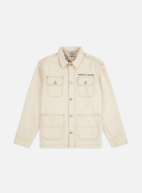 Giacche di Jeans Tommy Hilfiger Oversize Workwear Jacket