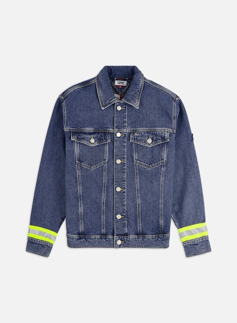 Outlet e Saldi Giacche Intermedie Tommy Hilfiger Oversized Denim Trucker Jacket