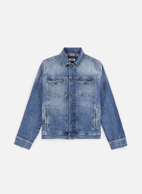 Outlet e Saldi Giacche Leggere Tommy Hilfiger Regular Trucker Jacket