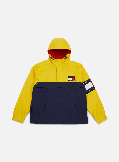 Intermediate Jackets Tommy Hilfiger TJ 90s Colorblock Pullover Jacket