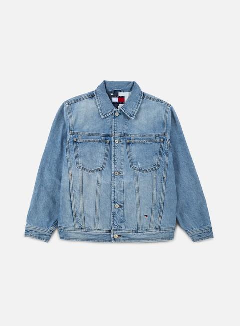 giacche tommy hilfiger tj 90s denim jacket mid stone wash