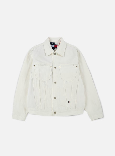 giacche tommy hilfiger tj 90s denim jacket white