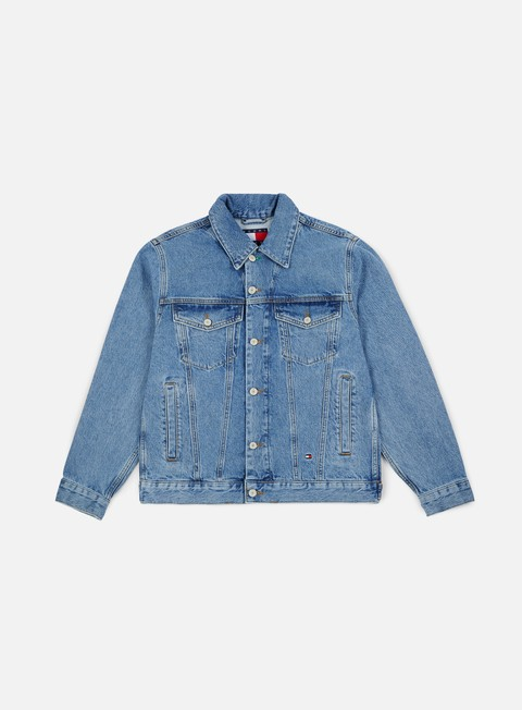 Sale Outlet Light Jackets Tommy Hilfiger Tj 90s Logo Denim Jacket