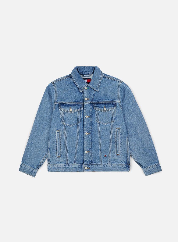 Tommy Hilfiger Tj 90s Logo Denim Jacket