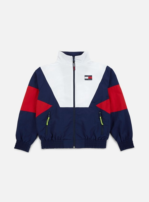 giacche tommy hilfiger tj 90s track jacket peacot multi