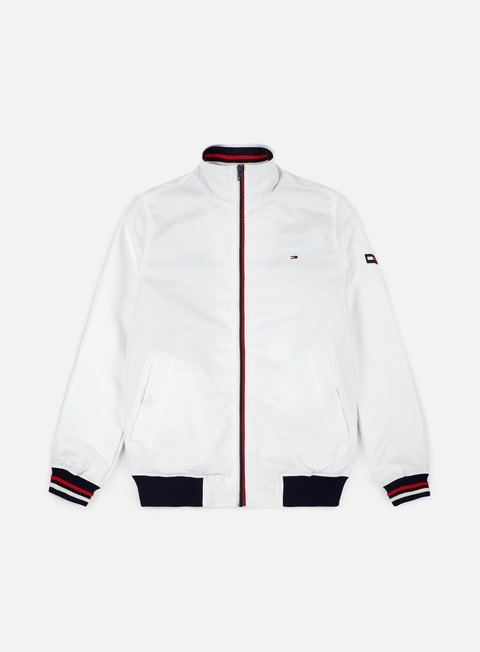 giacche tommy hilfiger tj basic casual bomber jacket classic white