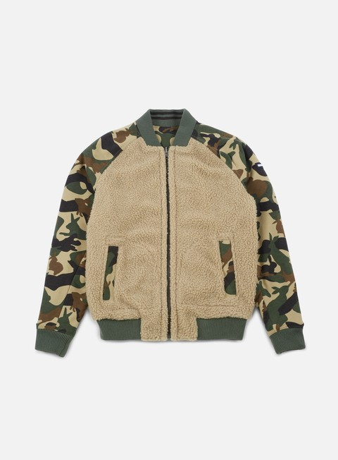 Intermediate Jackets Tommy Hilfiger TJ Camo Sherpa Mix Jacket