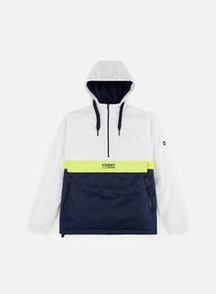 Tommy Hilfiger - TJ Colorblock Popover Jacket, Classic White/Multi