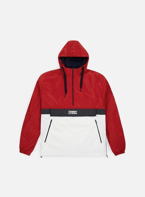 online store 36d4d df65a TJ Colorblock Popover Jacket