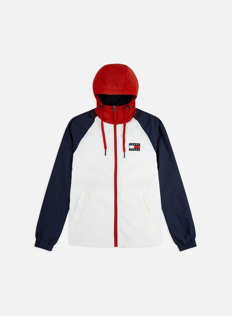 Outlet e Saldi Giacche Leggere Tommy Hilfiger TJ Colorblock Zip Thru Jacket