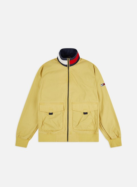 Tommy Hilfiger TJ Cotton Flag Collar Bomber Jacket