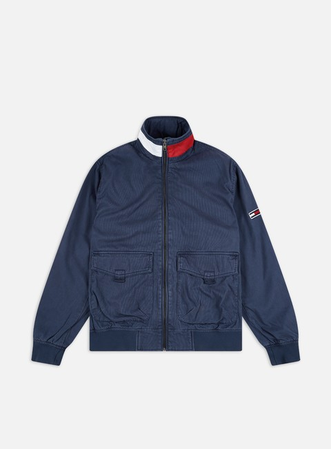 Giacche Leggere Tommy Hilfiger TJ Cotton Flag Collar Bomber Jacket