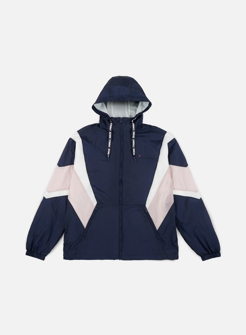 Giacche con Cappuccio Tommy Hilfiger TJ Drop Shoulder Athletic Jacket
