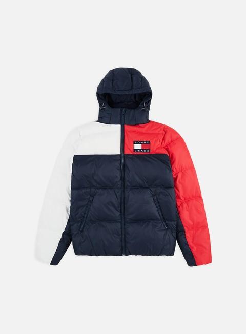 Outlet e Saldi Giacche Invernali Tommy Hilfiger TJ Essential Colorblock Jacket
