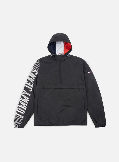 Giacche Leggere Tommy Hilfiger TJ Graphic Pullover Anorak Jacket