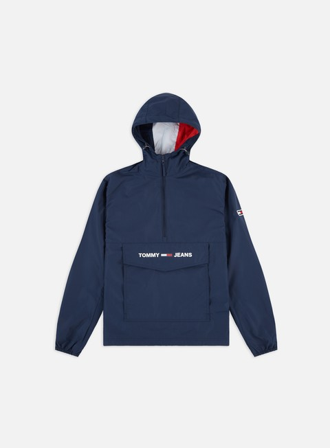Outlet e Saldi Giacche Leggere Tommy Hilfiger TJ Light Weight Popover Jacket