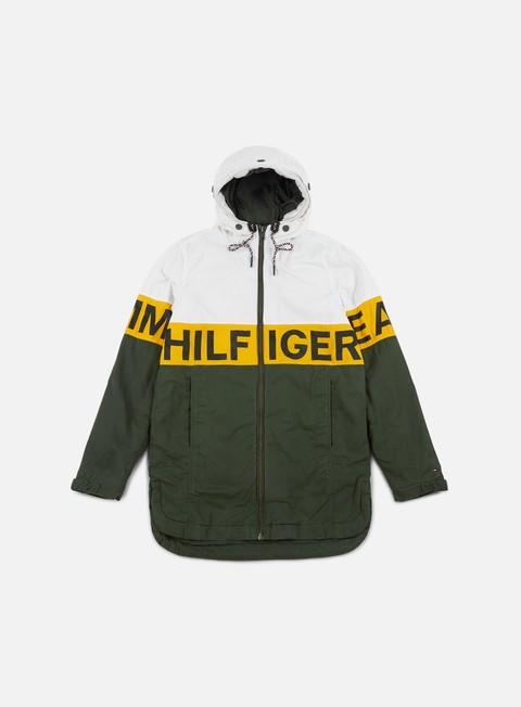 Intermediate jackets Tommy Hilfiger TJ Logo Hooded Coat