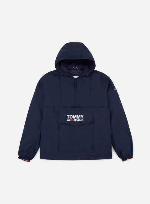 Outlet e Saldi Giacche Leggere Tommy Hilfiger TJ Pop Over Anorak Jacket