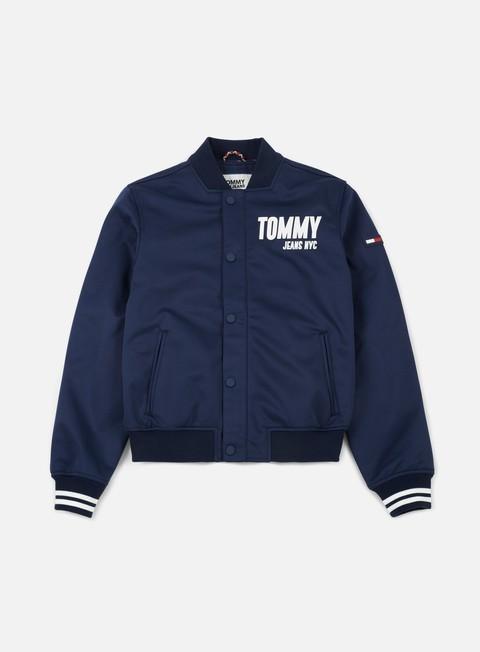 giacche tommy hilfiger tj racer bomber jacket black iris mult