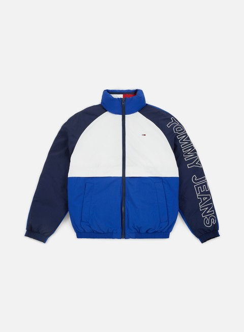 giacche tommy hilfiger tj tommy classics retro jacket surf the web multi