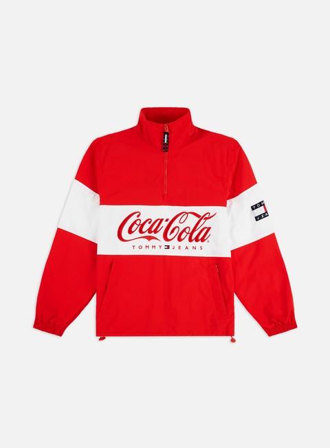 Outlet e Saldi Giacche Leggere Tommy Hilfiger TJ Tommy x Coca Cola Jacket