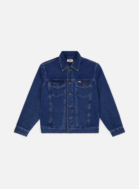 Denim Jackets Tommy Hilfiger Tommy Classics Oversiz Denim Jacket