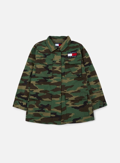 giacche tommy hilfiger wmns tj 90s camo jacket tj camo