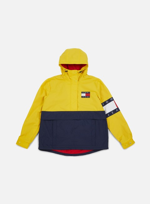 Intermediate Jackets Tommy Hilfiger WMNS TJ 90s Colorblock Pullover Jacket