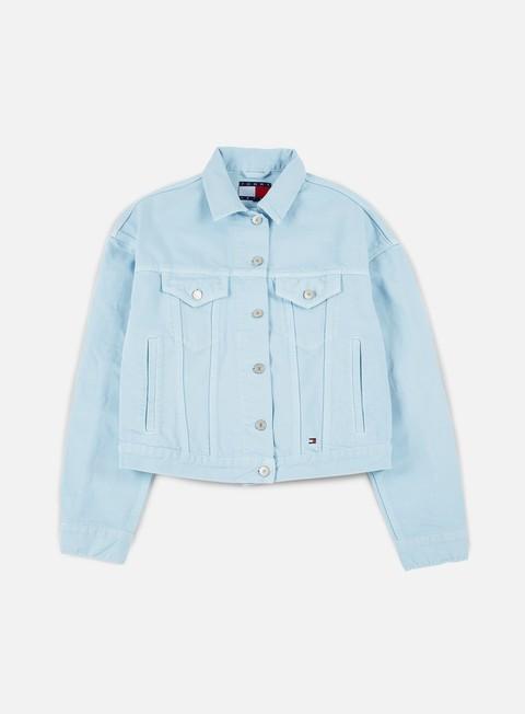 Denim Jackets Tommy Hilfiger WMNS TJ 90s Girlfriend Trucker Jacket