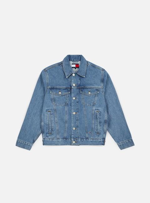 Outlet e Saldi Giacche Leggere Tommy Hilfiger WMNS TJ 90s logo Denim Jacket