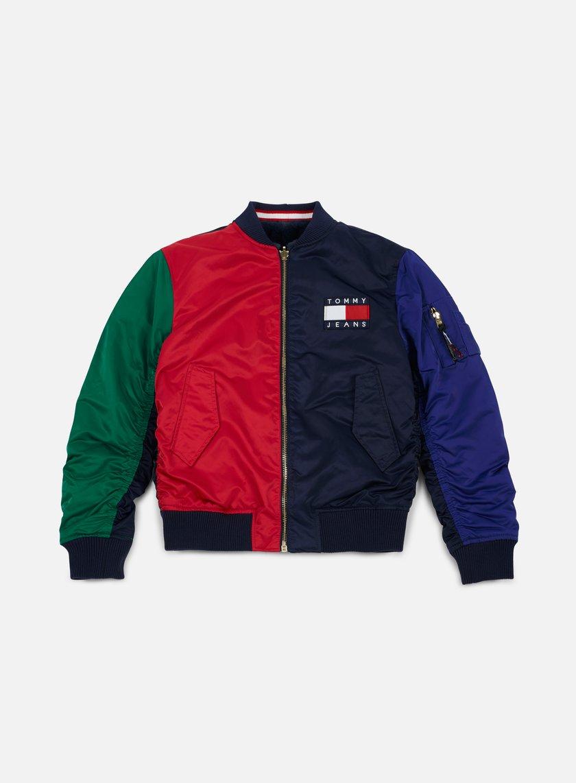 Tommy Hilfiger Wmns Tj 90s Reverse Flag Jacket Peacoat 1