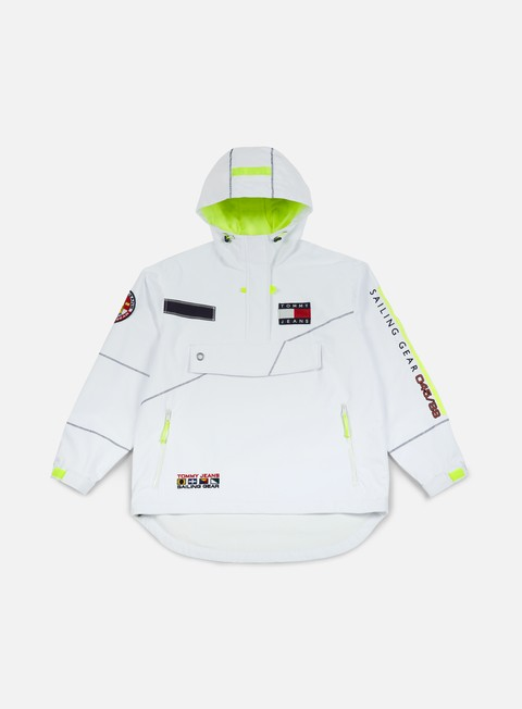 giacche tommy hilfiger wmns tj 90s sailing jacket bright white