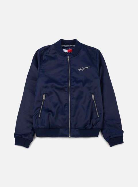 Light Jackets Tommy Hilfiger WMNS TJ 90s Satin Bomber Jacket