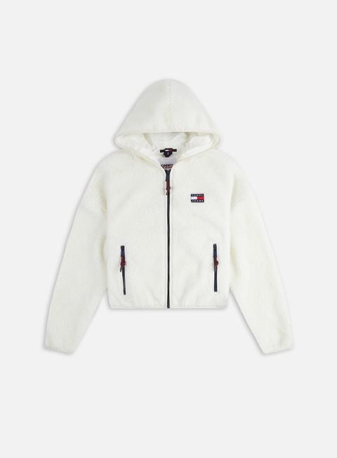 Tommy Hilfiger WMNS TJ Sherpa Hooded Jacket