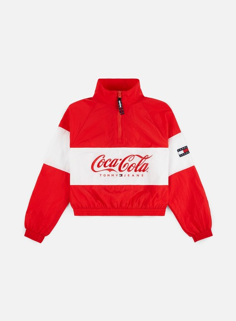 Light Jackets Tommy Hilfiger WMNS TJ Tommy x Coca Cola Jacket