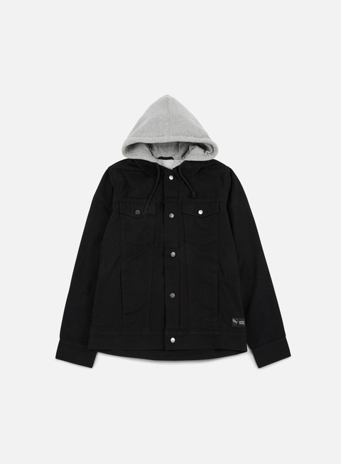 giacche vans edict ii jacket black
