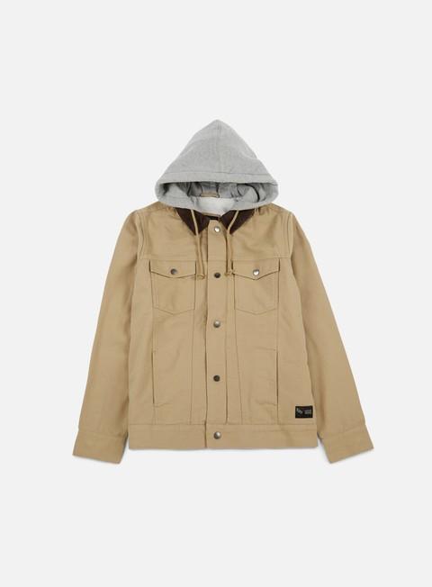 giacche vans edict ii jacket khaki