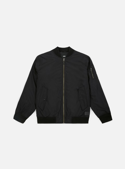 giacche vans galena bomber jacket black