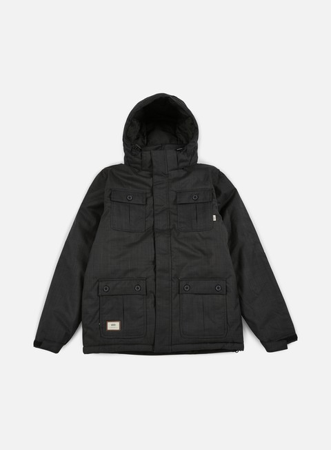 giacche vans mixter ii jacket black