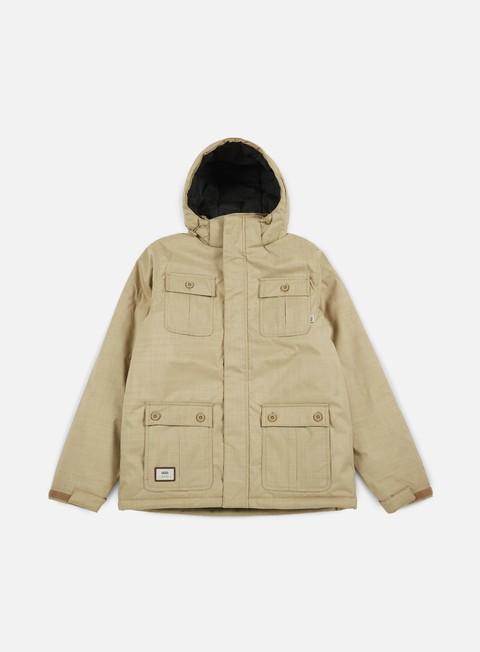 giacche vans mixter ii jacket khaki
