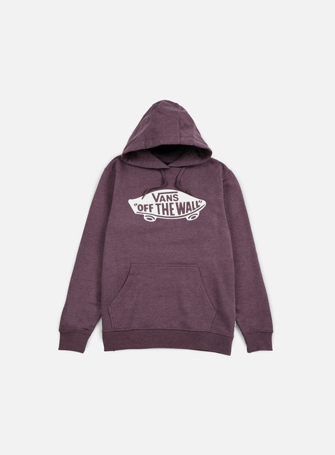 giacche vans otw hoodie port royale heather white