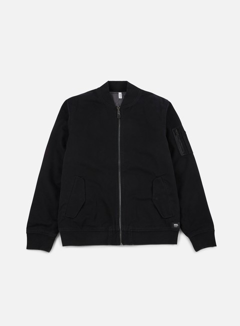 giacche vans overbrook jacket black