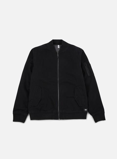 giacche vans overbrook jacket black